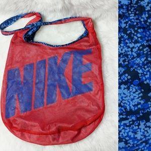 Nike Reversible Red Blue Crossbody Gym Bag
